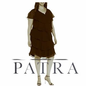 Patra great condition brown dress